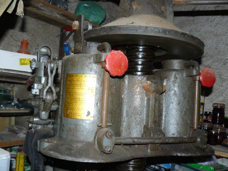 pressoir hydraulique garnier 01510