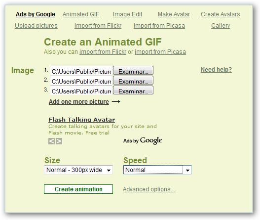 Como crear un GIF sencillo en Internet Picaso11
