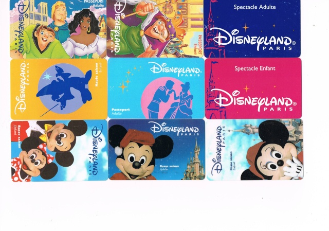 Passeport Disneyland Paris 0510