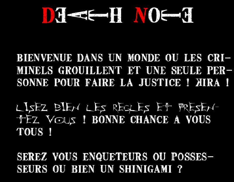 Death Note RPG Bannia10