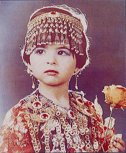 من الملابس التقليدية للمراة التركمانية 20710