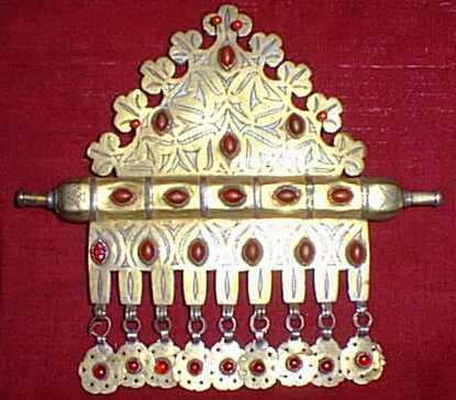 ادوات و زينة تقليدية للمراة التركمانية J4710
