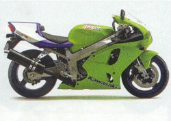 Kawasaki ZXR 750 Zx-7rr10
