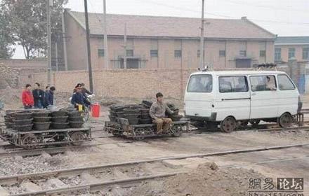Draisine / Wartungsfahrzeug in China 0110