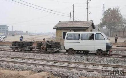 Draisine / Wartungsfahrzeug in China 0210
