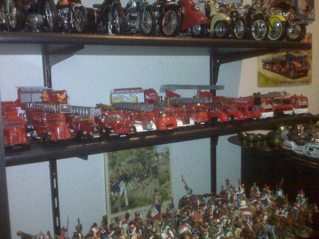 Feuerwehr-Sammlung meines Vaters H110