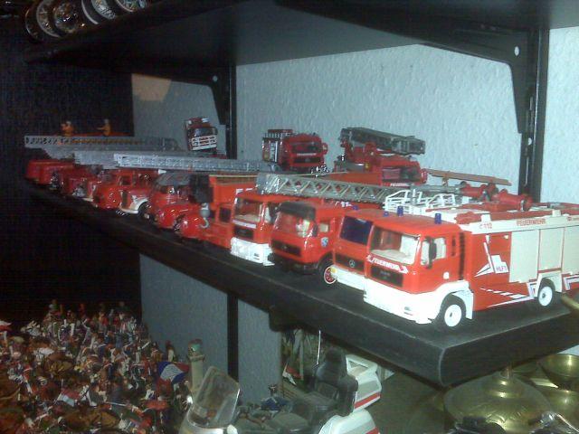 Feuerwehr-Sammlung meines Vaters H210
