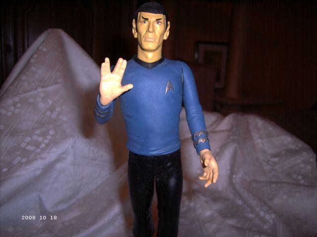Mr. Spock und Cptn. Kirk - AMT/ERTL 1/6 Spock110