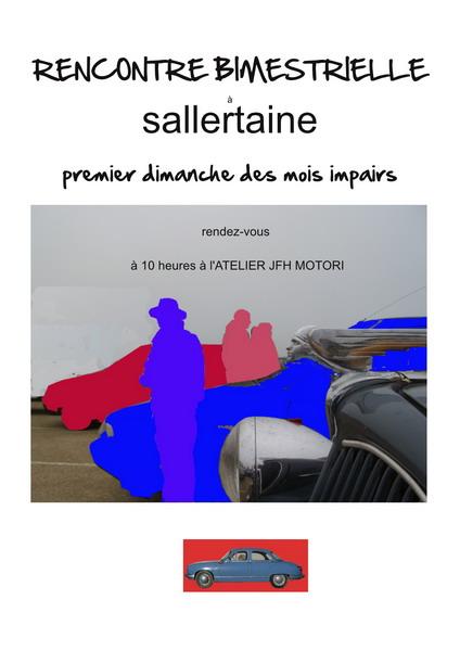 Rencontre de véhicules anciens à Sallertaine en Vendée 2013sa10