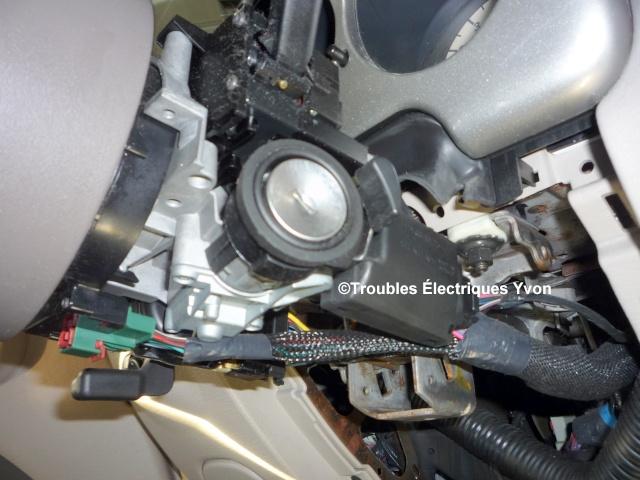 Truc, cylindre mécanique de clé d'ignition P1060710