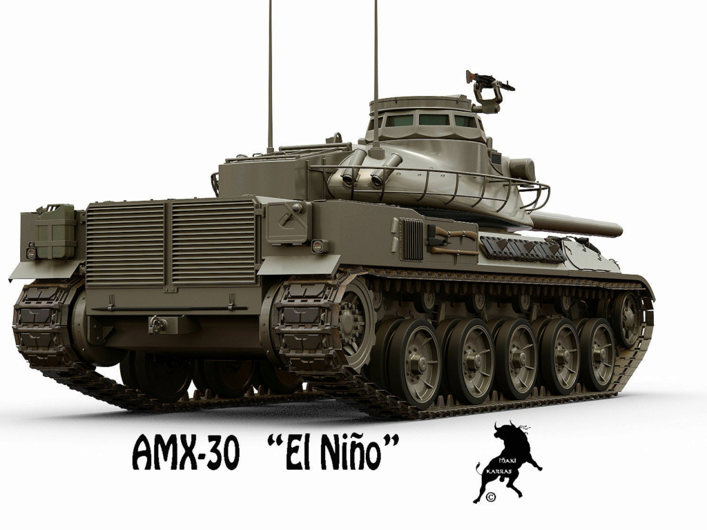 LEOX  -   HYBRIDE LEOPARD/AMX30 Amx-3014
