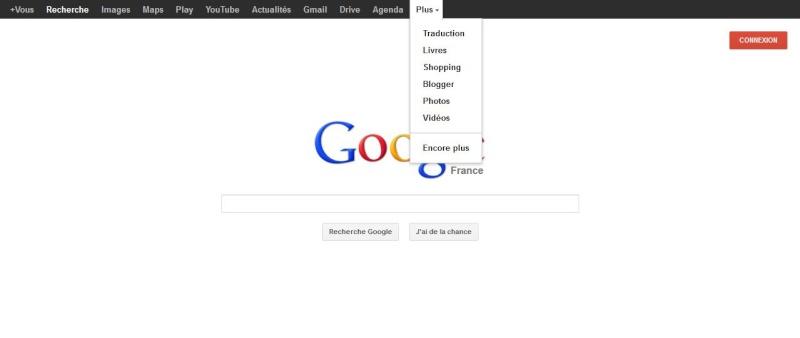 Les mises a jours Google - Google et la barre noire - Page 6 5511