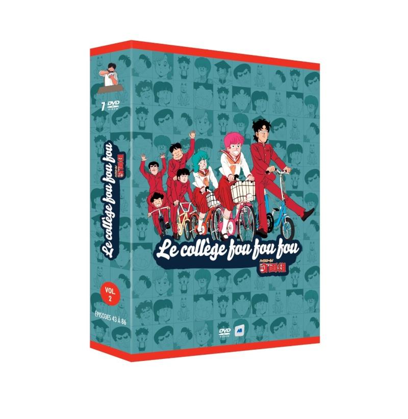 Coffret DVD 2 Le collège fou fou fou 81zvj210