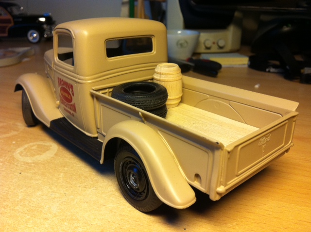 FORD 1937 Pick Up ( WIP ) Photo111