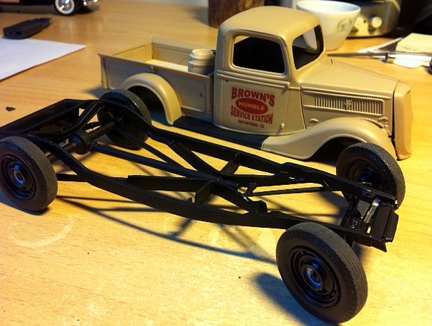 FORD 1937 Pick Up ( WIP ) Photo112