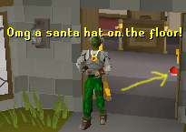 A Santa Hat on the Ground! I_foun10