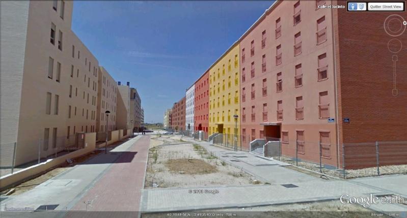 Ville fantôme, à quelques kms de Madrid, Espagne T13