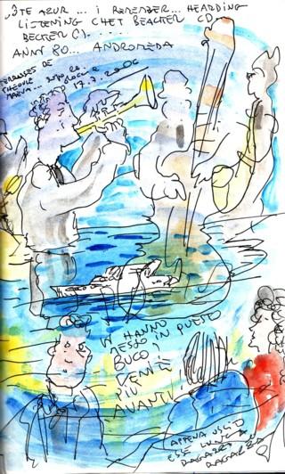 Hommage à Françoise Hardy via une chanson de Chet Baker Chet_b30
