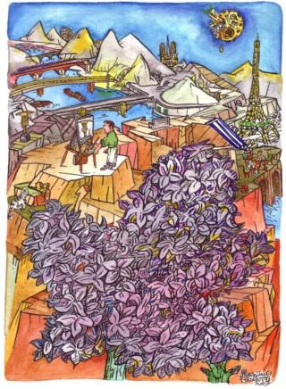 Françoise et le lilas... Copert37