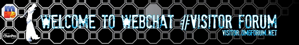 IRC WebChat #Visitor Forum