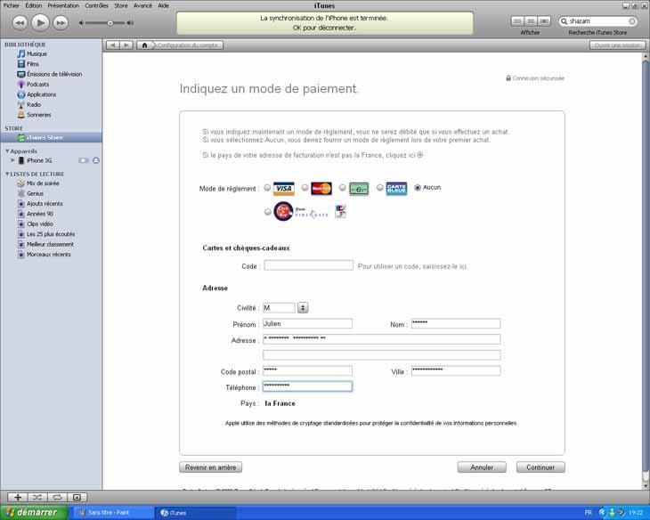 [TUTO] Créer un compte iTunes sans carte de crédit Tuto_i17