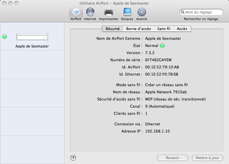 [RESOLU] Mac book pro avec Aiport Extreme ... problème Apple_13
