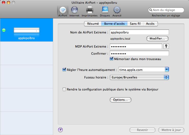 [RESOLU] Mac book pro avec Aiport Extreme ... problème Apple_21
