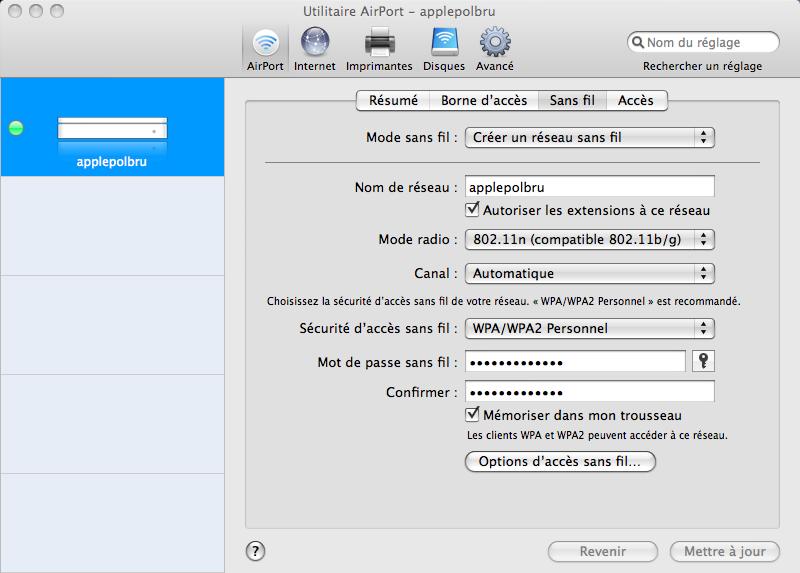 [RESOLU] Mac book pro avec Aiport Extreme ... problème Apple_22