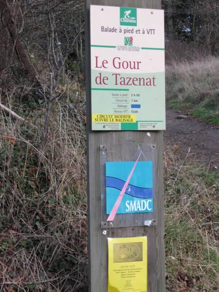 Le Gour de Tazenat (Auvergne) Gourde22