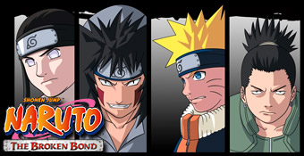 Xbox 360 : Naruto the broken bond N00tx310