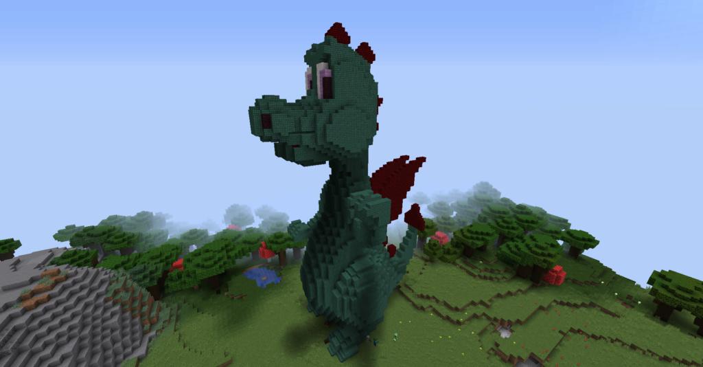 Olli the dragon from Legoland 2019-012