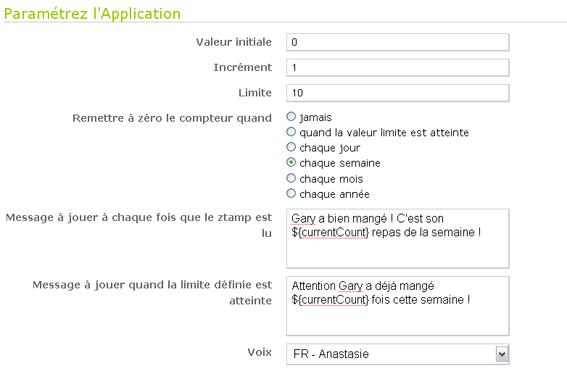 """Problème avec l'application """"Compter et réagir"""" Ss10"""