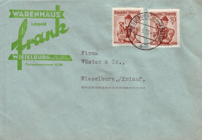 Trachtenserien ANK 887 - 923 und 1052 - 1072 Belege - Seite 5 Wiesel11