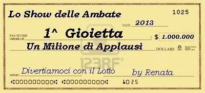 Classifica finale -Vincitrice Gioietta A_prem10