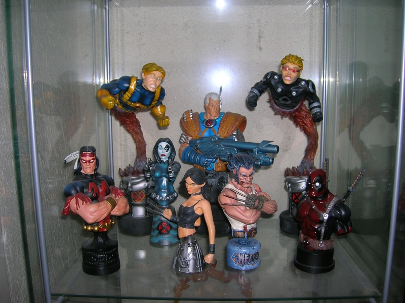 Collection n°117: ma petite collect SW et marvel 210