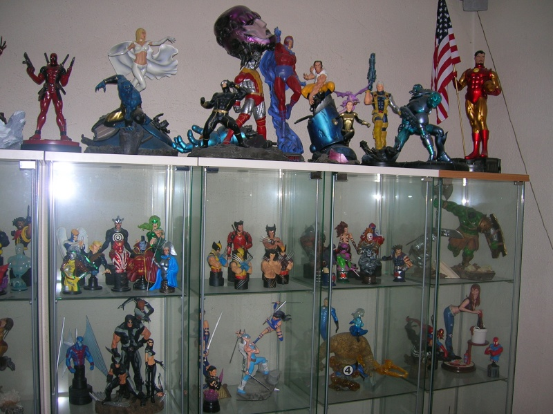 Collection n°117: ma petite collect SW et marvel X10