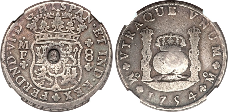 Mexico 1770-MoMF 8 Reales with counterstamp real? Image211