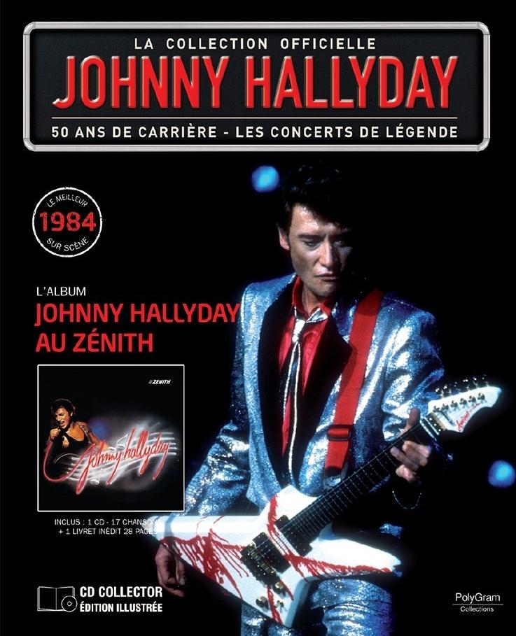 N° 55 1984 - Johnny Hallyday au Zénith 48762210