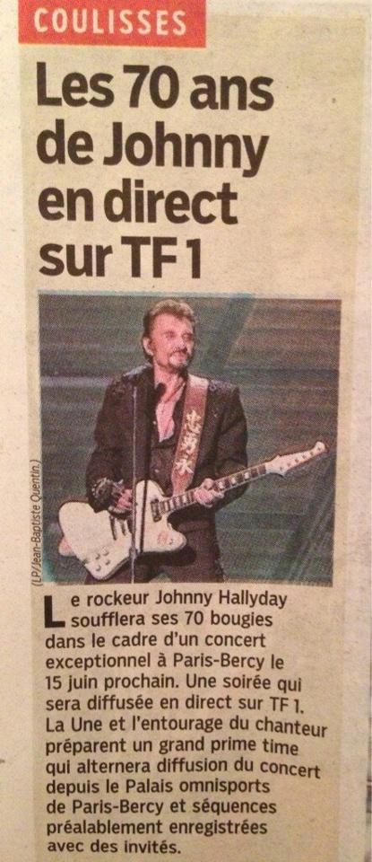 Le concert des 70 ans de Johnny Hallyday sera diffusé en direct sur TF1  64433510