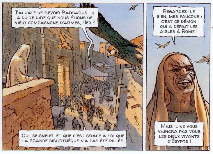 Alix Senator 2 : le dernier pharaon - Page 4 Aigles10