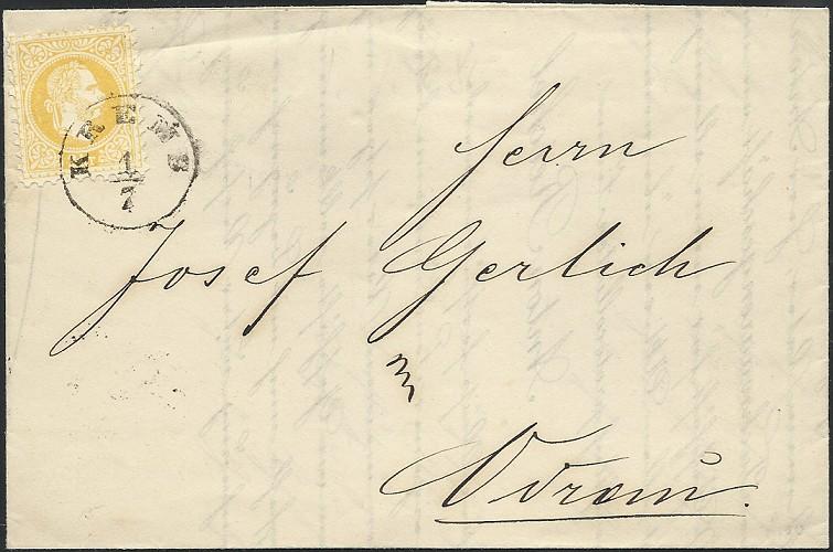 ungarn - Freimarken-Ausgabe 1867 : Kopfbildnis Kaiser Franz Joseph I 1868_d11