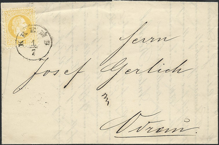 Nachtrag - Freimarken-Ausgabe 1867 : Kopfbildnis Kaiser Franz Joseph I 1868_d11