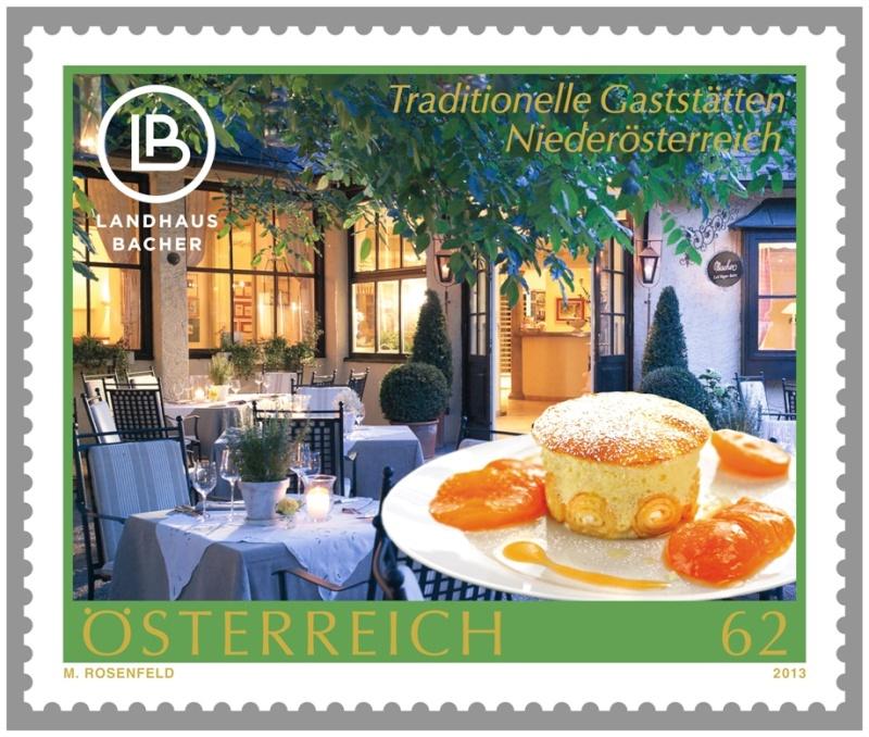 Neue Sondermarke Landhaus Bacher 11.4.2013 Bacher11