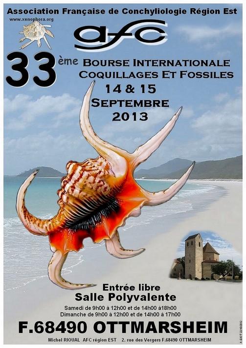 2013 Bourse internationale Ottmarsheim - 14 & 15 Septembre - AFC Région EST  Affich10