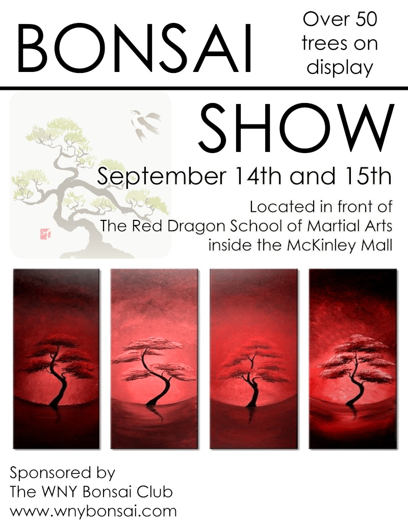 WNY Bonsai Club Show Sept. 14th & Sept. 15th Bonsai11