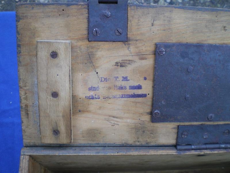 La P-Kasten : accessoire du luger dit d'artillerie (ou LP14) et du MP18/1 Instru10