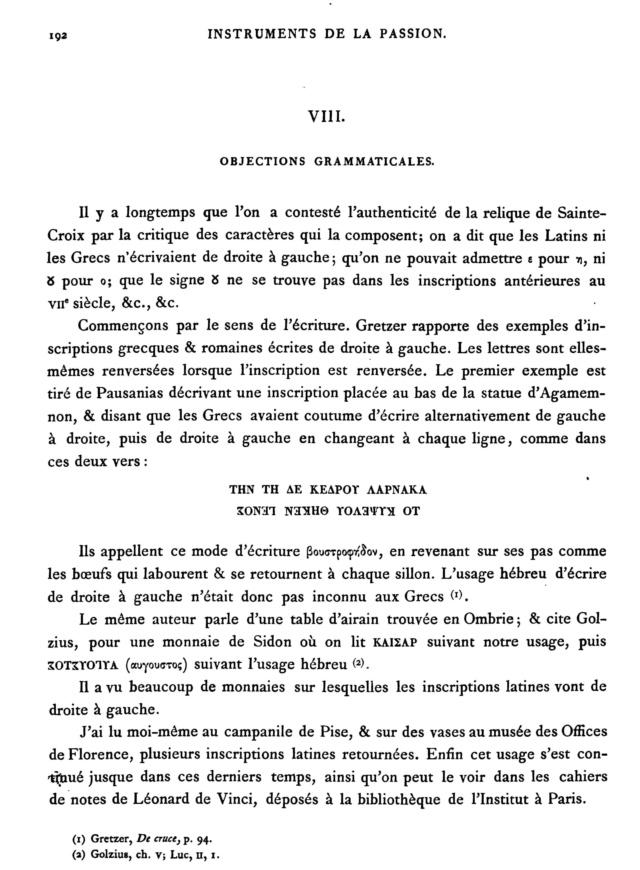 MÉMOIRE sur les instruments de la Passion de N.-S. J.C. - Page 2 Page1910