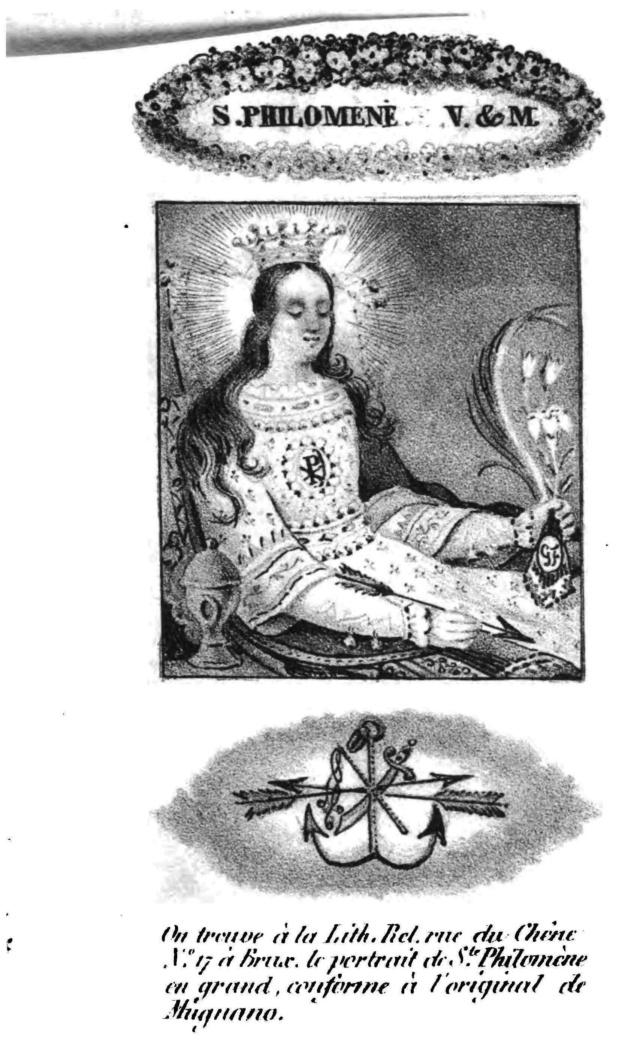 Sainte Philomène, Vierge et Martyre. Page_190