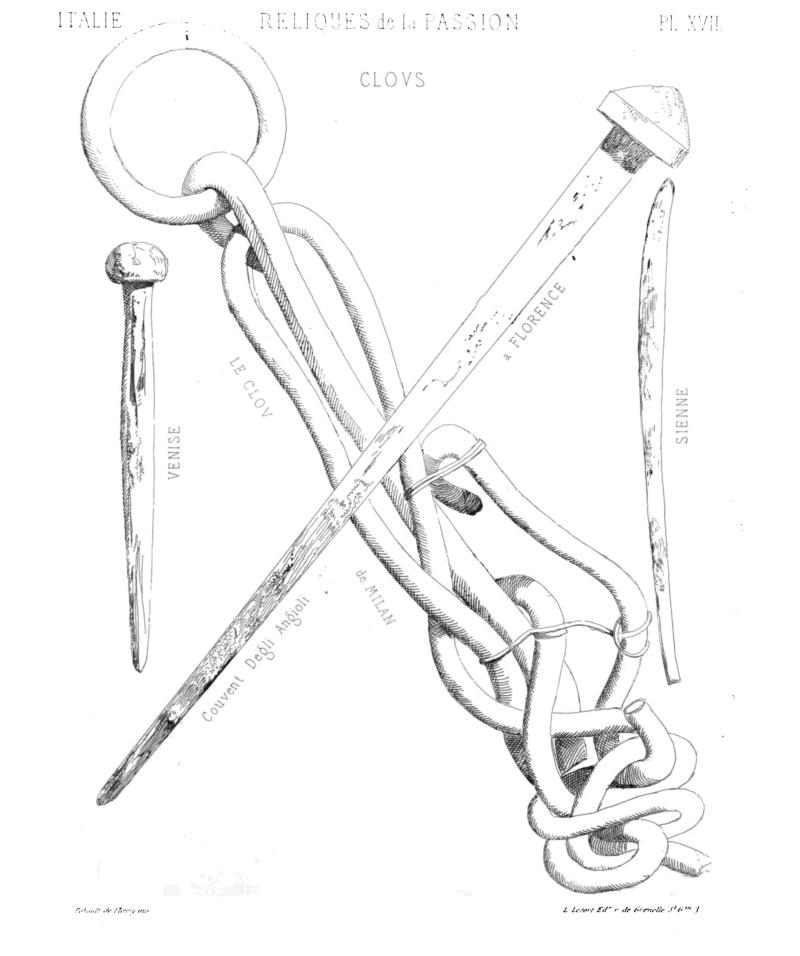 MÉMOIRE sur les instruments de la Passion de N.-S. J.C. Planch36