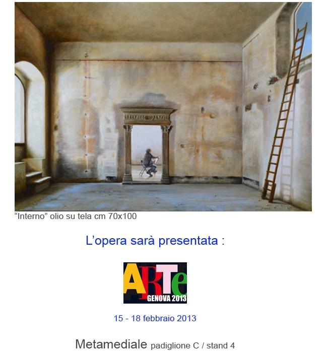 NUNZIANTE ad ARTEFIERA GENOVA 2013 12021310